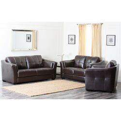 Sydney Premium Leather Living Room Set