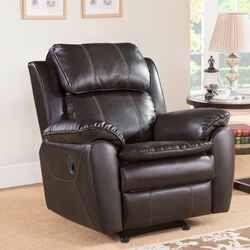 Hokku Designs Harrison Reclining Loveseat Amp Reviews Wayfair