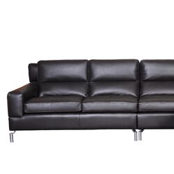 Riley Leather Sectional