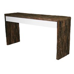 Bliss Glass Console Table