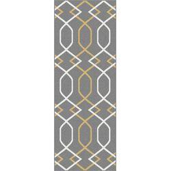Metro Gray Geometric Rug