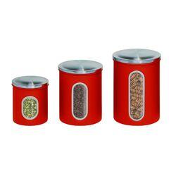 3 Piece Storage Canister Set