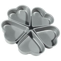 Non-Stick Linked Heart Pan