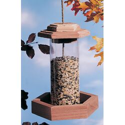 Circular Hopper Bird Feeder