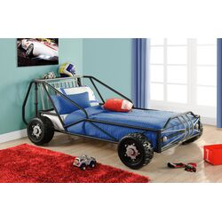 Metal Twin Racer Bed
