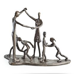 Children and Parents at Play Sculpture