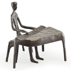 Piano Player Sculpture