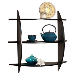 3 Tier Half Moon Wall Shelf