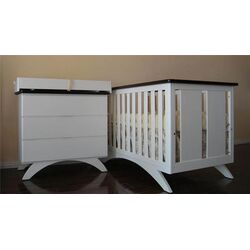 Madison Two Piece Convertible Crib Set