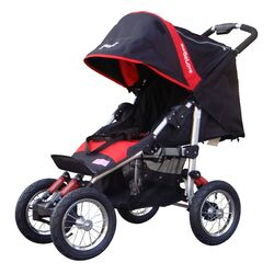 Single Jogger Stroller with Suspension