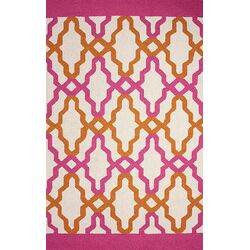 Novel Pink Franca Indoor / Outdoor Rug