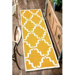 Divina Hand Tufted Gold Area Rug