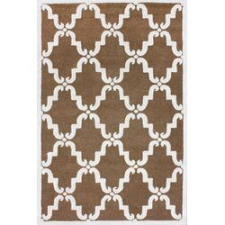 Divina Hand Tufted Brown Area Rug