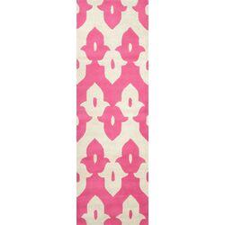 Palazzo Hand Tufted Pink Area Rug