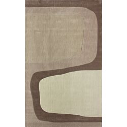 Cine Franz Charcoal Rectangular Contemporary Rug
