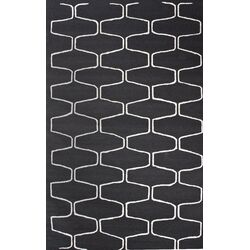 Trellis Charcoal Contemporary Rectangular Rug