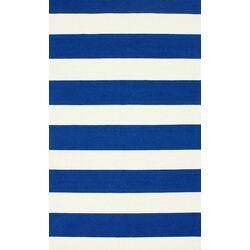 Serendipity Royal Blue Alina Stripes Area Rug