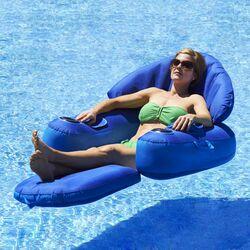 poolmaster rio sun adjustable floating pool lounger reviews wayfair. Black Bedroom Furniture Sets. Home Design Ideas