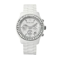 Women's White Silicone Watch