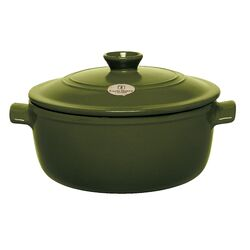 Flame Top 5.5-qt. Clay Round Casserole