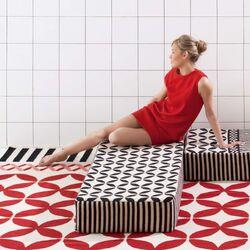 Gan Spaces M�dulo A4 Modular Wool Cushion