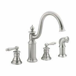 Kitchen faucets wayfair for Moen castleby bathroom faucet