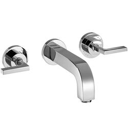 Axor Citterio Double Handle Wall Mounted Faucet