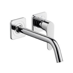Axor Citterio M Wall Mounted Single Handle Bathroom Faucet in Chrome
