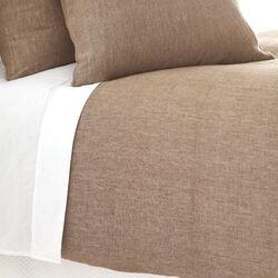 Chambray Linen Duvet Cover