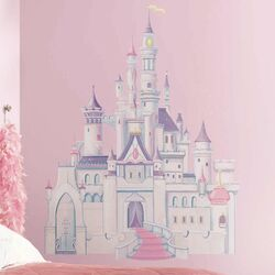 Licensed Designs Disney Princess Castle Wall Decal Set