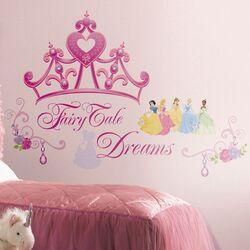 Deco Disney Princess Crown Giant Wall Decal Set