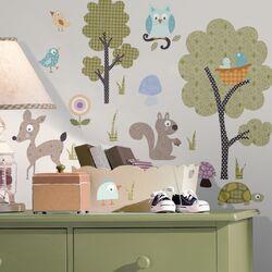 Studio Designs Woodland Animals Wall Decal Set