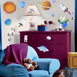 Studio Designs Outer Space Wall Decal Set