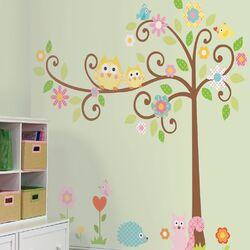 Megapacks Scroll Tree Wall Decal Set