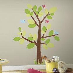 Kids Tree Giant Wall Decal Set
