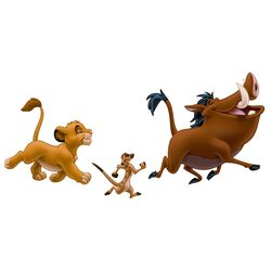 The Lion King Giant Wall Decal Set