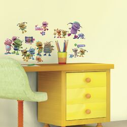 Popular Characters Henry Hugglemonster Peel and Stick Wall Decal