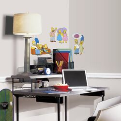 Popular Characters The Simpsons Peel and Stick Wall Decal