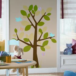 Dotted Tree Peel and Stick Wall Decal