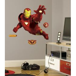Licensed Designs Iron Man Giant Wall Decal