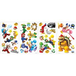 Super Mario Bros. Wii Wall Decal