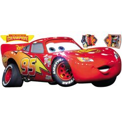 Cars Lightening McQueen Giant Wall Decal
