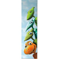 18 Piece Peel & Stick Giant Wall Decals/Wall Stickers Dinosaur Train Wall Decal Set