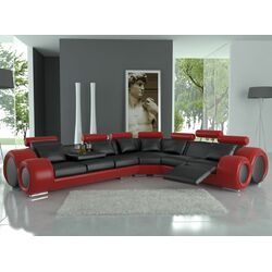 Modern Italian Design Franco Sectional Sofa