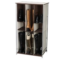 Adjustable Storage and Organization Free Standing Boot Storage