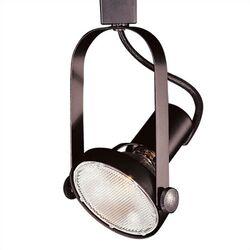 1 Light Luminaire Line Voltage Track Head