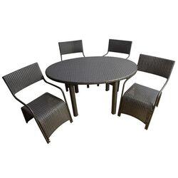 Outsunny 5 Piece Dining Set