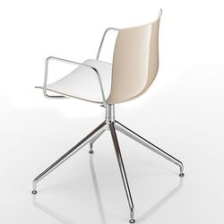 Catifa 46 Arm Chair with Two-Tone Seat