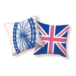 London Ferris Wheel Pillow