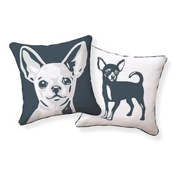 Chi Hua Hua Double Sided Cotton Pillow